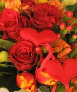 Gėlės VALENTINO dienai