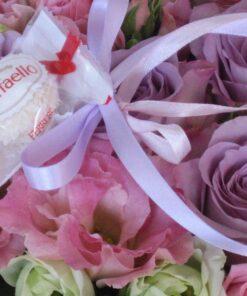 Gėlės + saldainiai